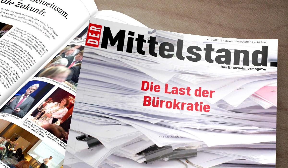 BVMW Magazin Der Mittelstand.