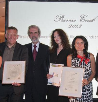 Preisträger Siegbert Mattheis, Elio Menzione Italienischer Botschafter, Claudia Mattheis
