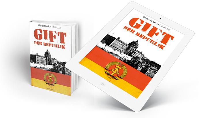 """Berlin-Thriller """"Gift der Republik"""" als Buch App"""