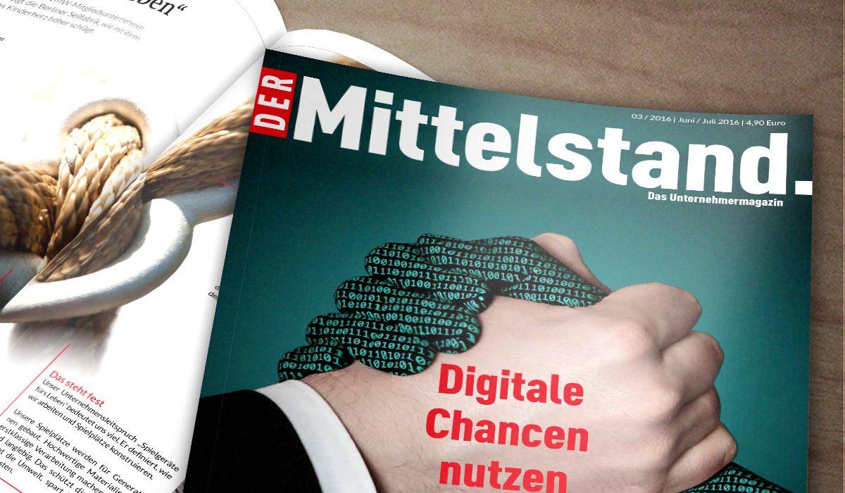 Cover Unternehmermagazin Der Mittelstand Ausgabe 03/2016