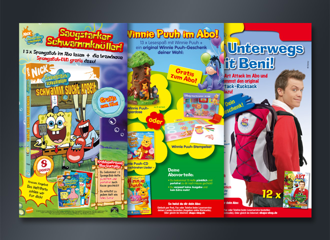 Epha Shop Spongebob Schwammkopf Winnie Puh Art Attack Beni Konzeption Mattheis Werbeagentur
