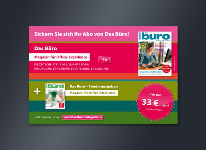 Verlag Frank Nehring Büro Anzeige Abo sichern querformat Mattheis Werbeagentur Berlin