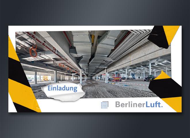 Berliner Luft Einlagung Messe Messehallen Lagerhallen Absperrband mattheis werbeagentur berlin