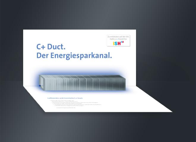 Berliner Luft Ernergiesparkanal C+ Duct Faltkarte mattheis werbeagentur berlin