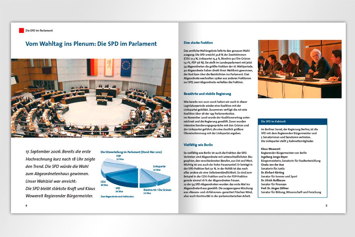 SPD Fraktion Konkret Wahlen Entscheidungen Parlament Umsetzung Mattheis Werbeagentur Berlin