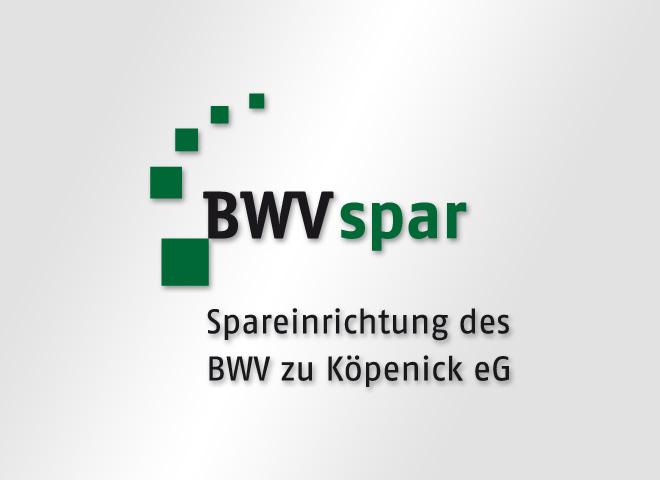 BWV spar – Köpenik Spareinrichtung Logo Gestaltung Mattheis Werbeagentur Berlin