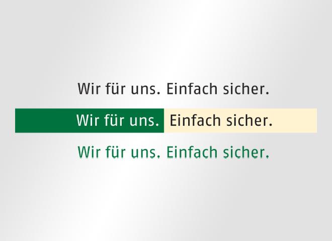 BWV spar einfach sicher Wohnungsgesellschaft Genossenschaft Gestaltung mattheis. Werbeagentur Berlin