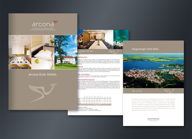 Arcona Hotels Urlaub Reisen Resort Urlaubsziel Entspannung Gestaltung mattheis werbeagentur Berlin