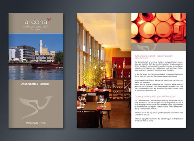 Arcona Hotel Havelufer Zaberhaftes Potsdam Urlaub Reisen Ausflug Mattheis Werbeagentur Berlin