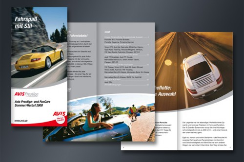 Avis Autovemrietung Prestige Mietwagen Preise Fahrspaß Stil Fahrerlebnis Mattheis Werbeagentur Berlin