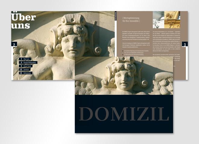 Domizil Mietermagazin Hausverwaltung Titel Immobilie Mattheis Werbeagentur Berlin