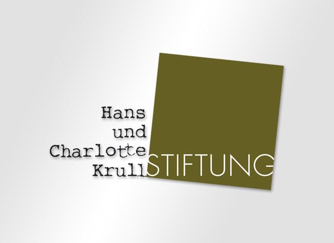 Hans und Charlotte Krull Stiftung – Krull Stiftung Hans Charlotte Logo Gestaltung Mattheis Werbeagentur Berlin