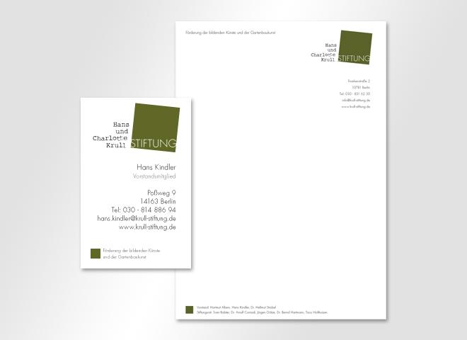 Hans und Charlotte Krull Stiftung – Krull Stiftung bildene Künstler wissenschaftliche Publikationen Gartenbaukunst Gestaltung mattheis. Werbeagentur Berlin