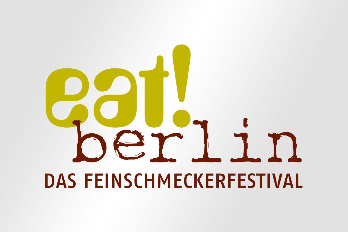 eat berlin Feinschmecker Festival Logo Gestaltung Mattheis Werbeagentur Berlin