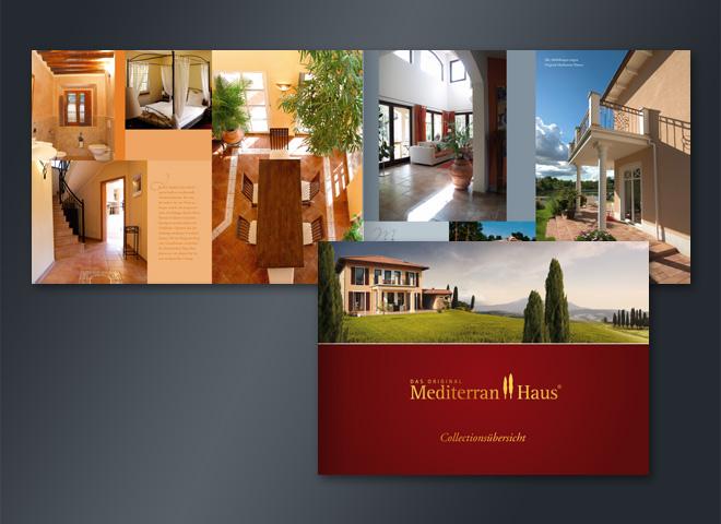 Mediterranhaus Collection Villen Häuser Home sünländisch Mittelmeet Urlaub Umsetzung Mattheis Werbeagentur Berlin