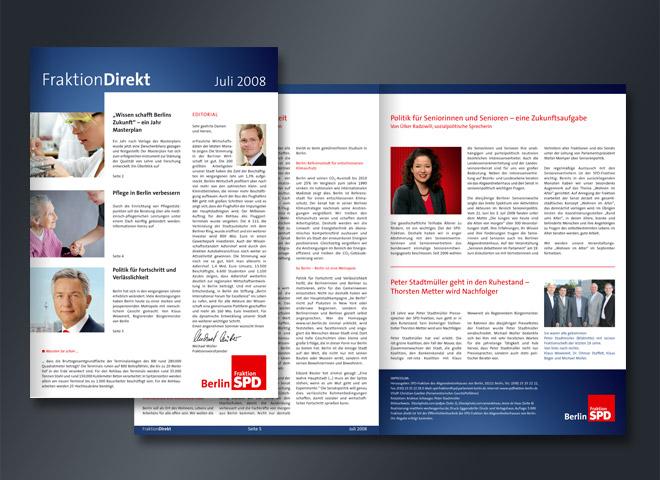 SPD Fraktion Juli Gerechtigkeit Verbraucherschutz Politik Demokratie Magazin Gestaltung Gestaltung Mattheis Werbeagentur Berlin