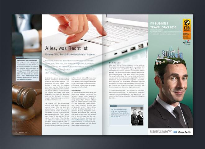 Tempra 365 Magazin Doppelseite Büro Arbeitgeber Arbeitnehmer Office Umsetzung Gestaltung mattheis. Werbeagentur
