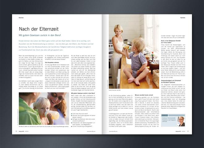 Tempra 365 Magazin Manager Office Profis Büromanagement Umsetzung Gestaltung mattheis. Werbeagentur Berlin