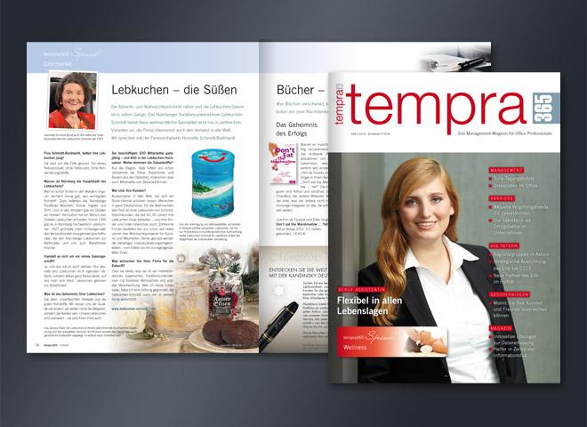 Tempra 365 Magazin Flexibel Lebenslagen Office Arbeitsleben Umsetzung Gestaltung mattheis. Werbeagentur