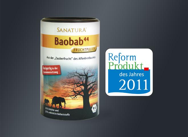 Sanatura Baobab Reform Produkt Fruchtpuler Affenbrotbaum Verpackungsdesign mattheis werbeagentur berlin
