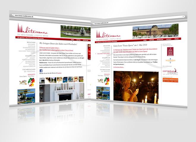 Messe Mediterraneo – Website Konzeption mattheis. Werbeagentur Berlin
