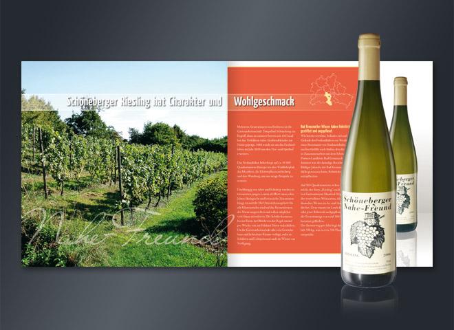 Weingarten e.V. Schöneberger Riesling Geschmack Wohlgenuss Wein nahe Freunde Mattheis Werbeagentur Berlin