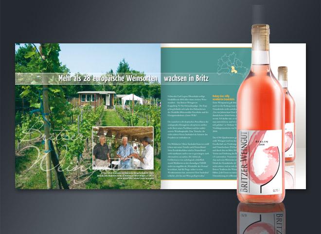 Weingarten e.V. Weinsorten Broschüre Berlin Brits vielfalt Weingut Mattheis Werbeagentur Berlin