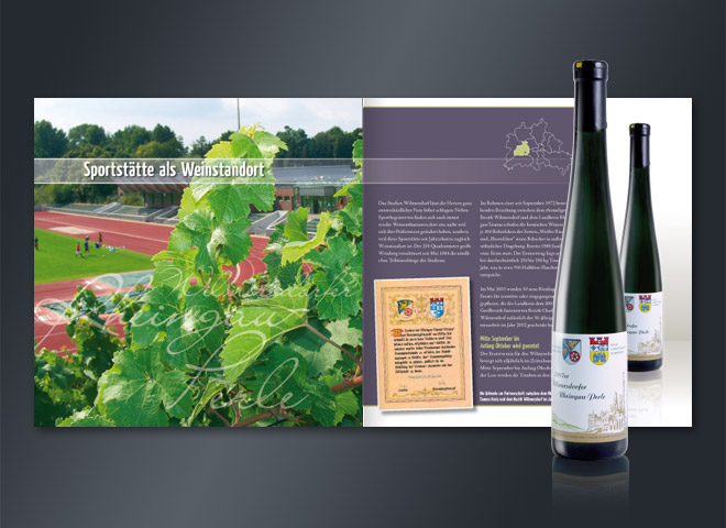 Weingarten e.V. Wilmersdorf Sportplatz Ernten Genuss Alkohol kulinarisch Mattheis Werbeagentur Berlin