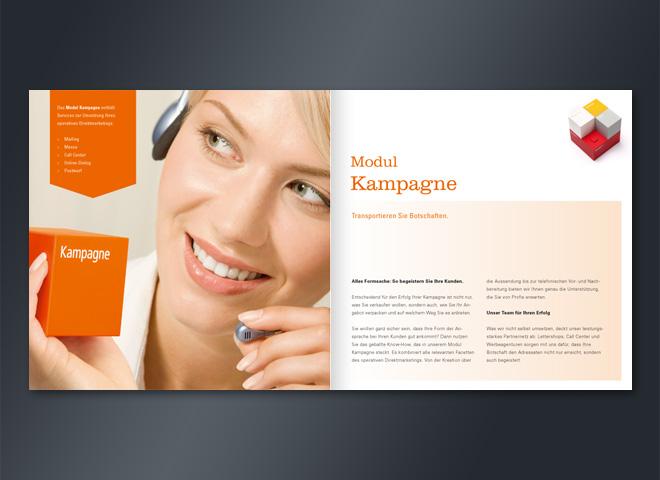 Wolff Consulting Doppelseite Kampagne Marketinerfolg Broschüre Gestaltung mattheis. Werbeagentur Berlin