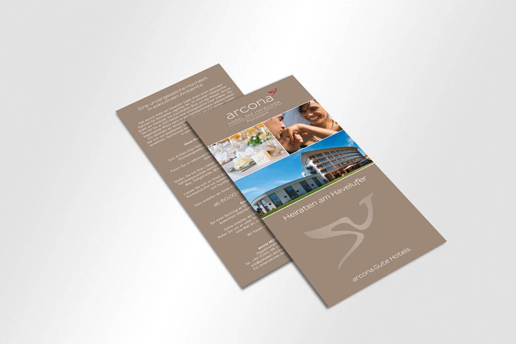 Corporate Design Arcona Hotels | Mattheis Werbeagentur