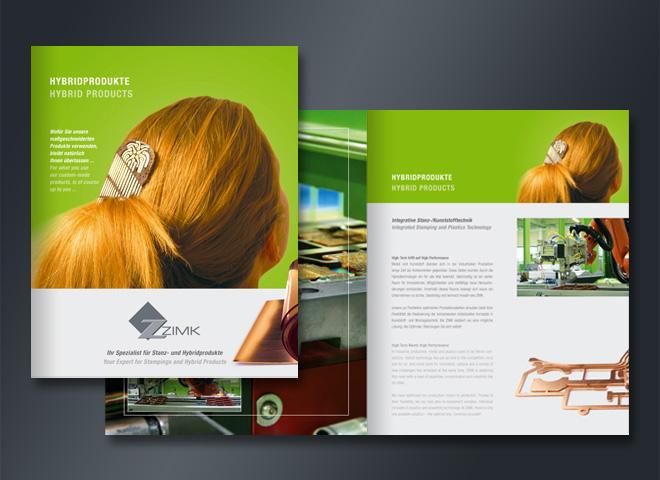 zimk Hybrid Produkte Broschür Mattheis Werbeagentur Berlin
