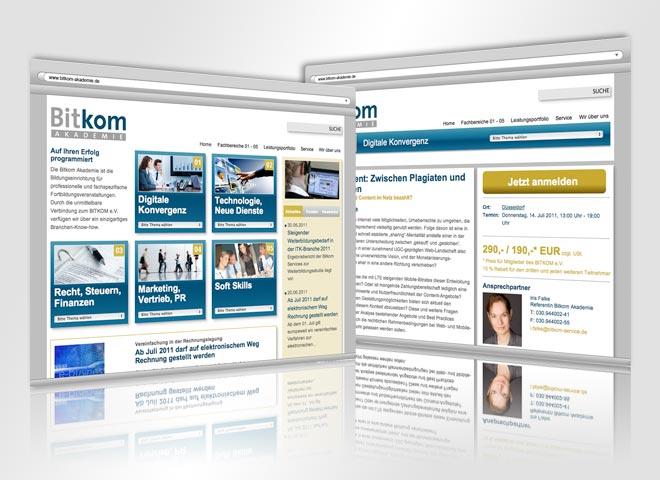 Webstiegestaltung Werbemittel Bitkom Service Berlin Mattheis