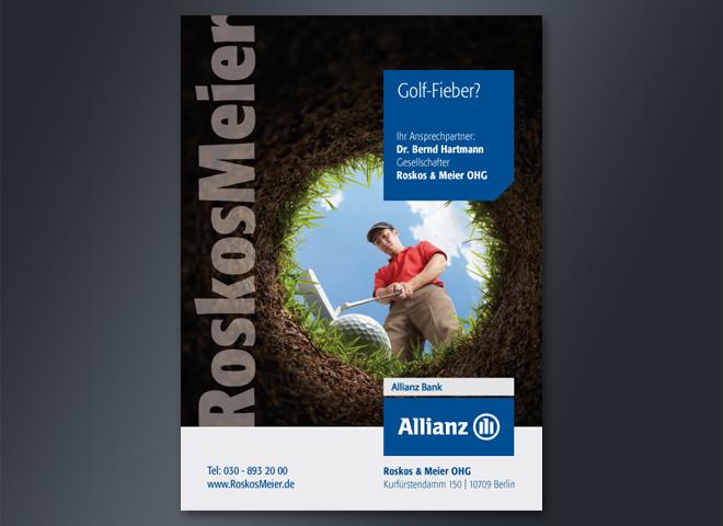 Allianz Roskos Meier Mattheis Werbeagentur Berlin
