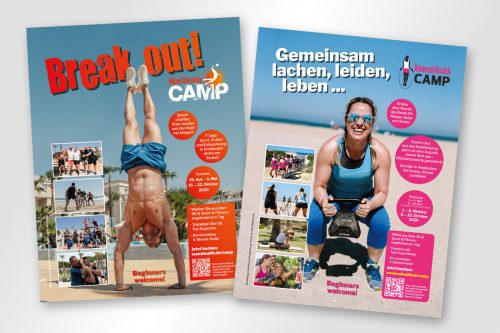Women´s Health und Men´s Health Camp Adamare SingleReisen best mood events