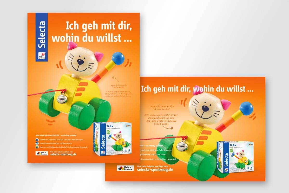 Anzeigen Tinka Selecta | mattheis. werbeagentur gmbh