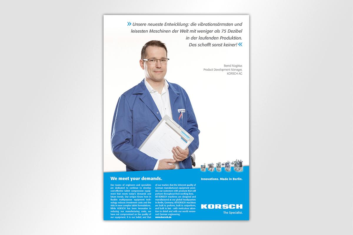 Korsch AG Korsch Mattheis mattheis Werbeagentur Berlin