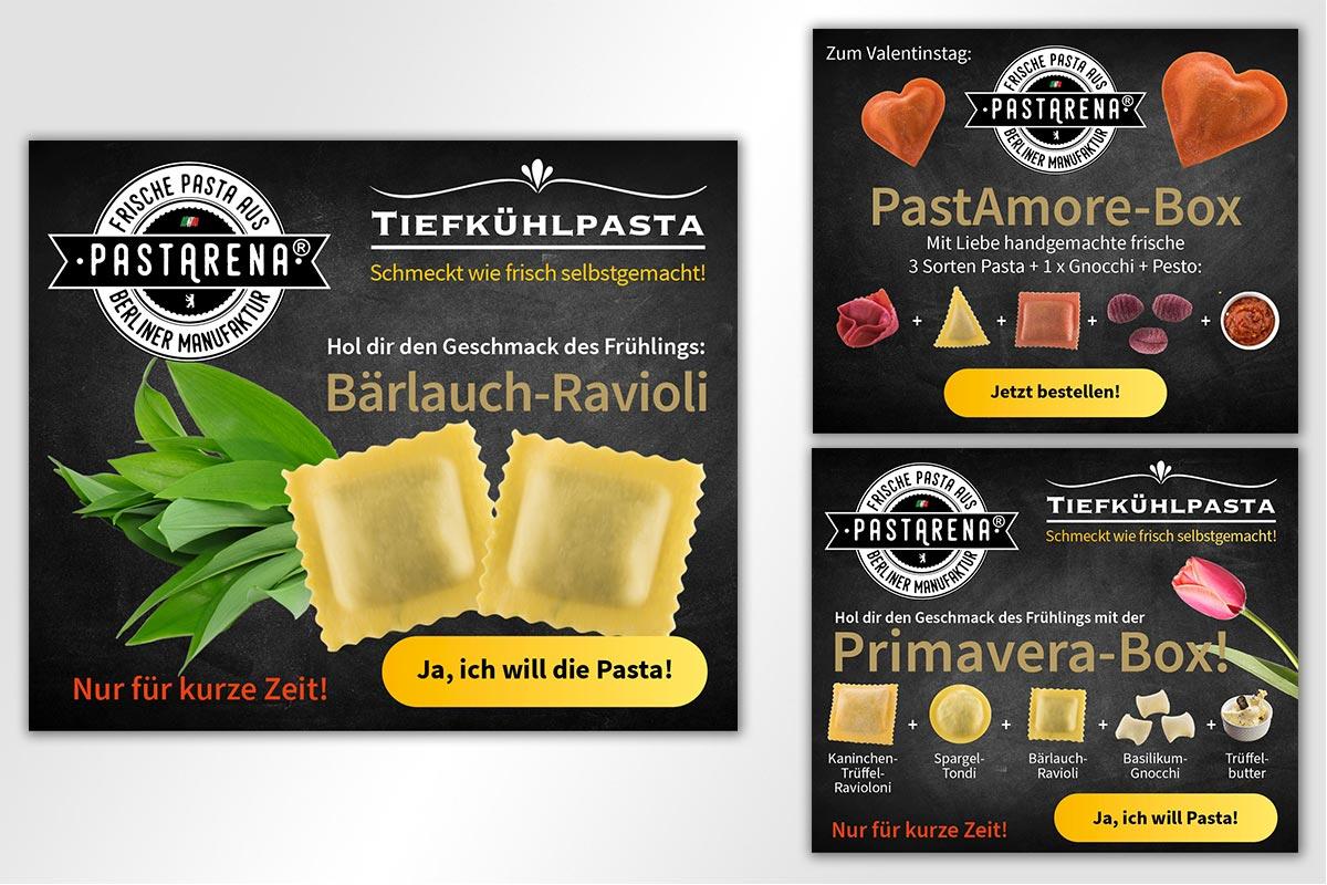 Anzeigen PastArena