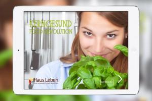 App Kerngesund Haus Leben