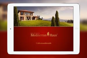 Katalog-App Mediterran-Haus