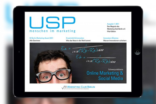 USP Marketing Club Berlin – Magazin-App USP