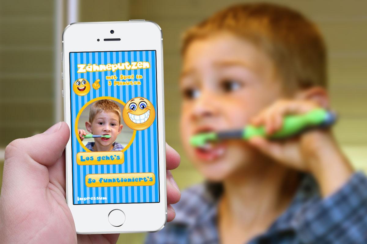 App Zähne Putzen