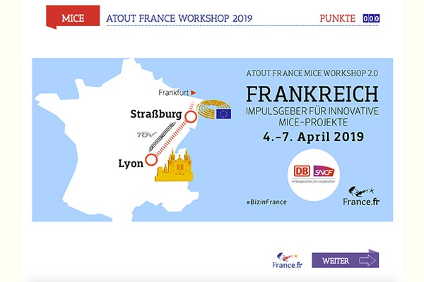 Titel Atout-France_MICE-Workshop mit Gamification