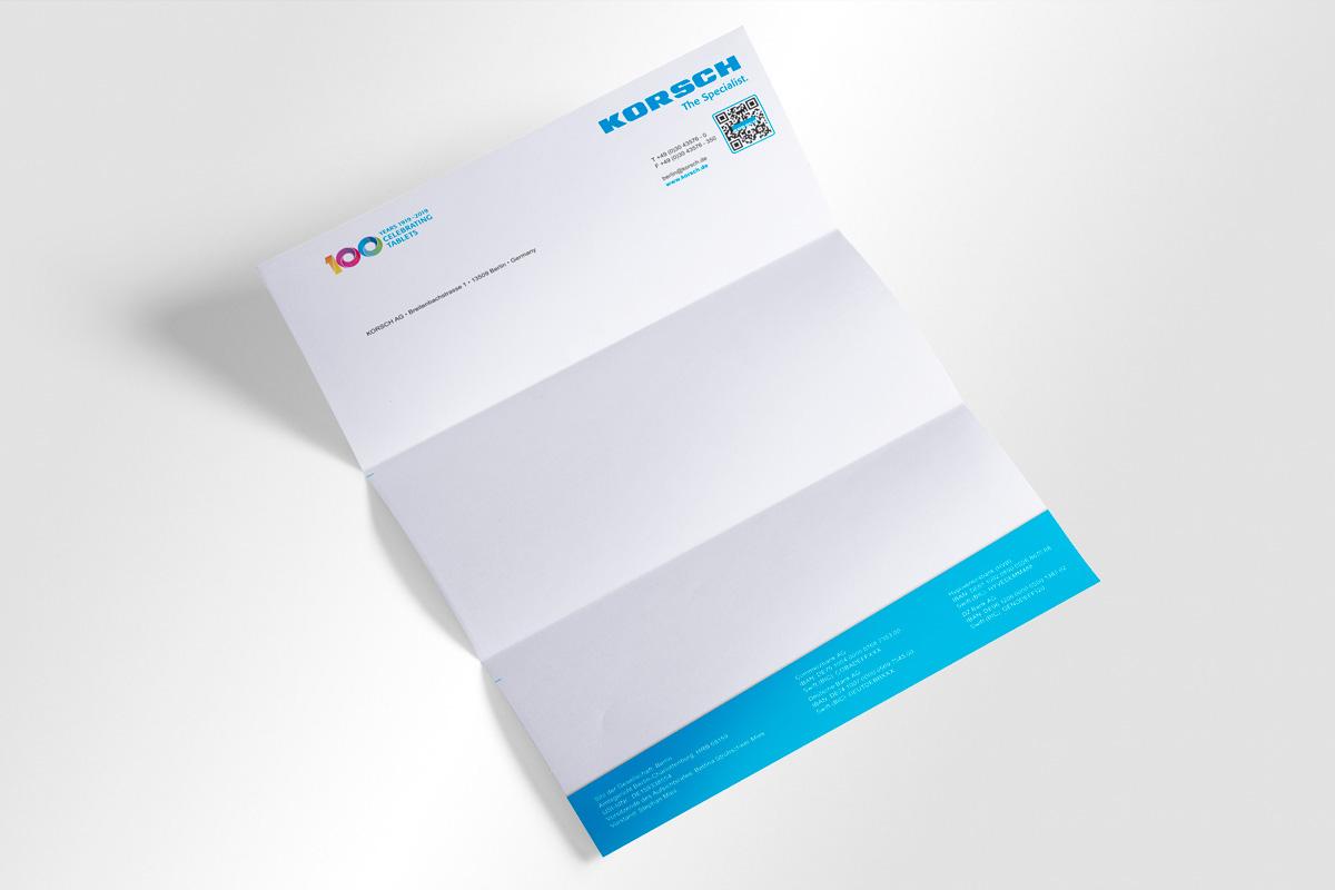 Briefpapier KORSCH