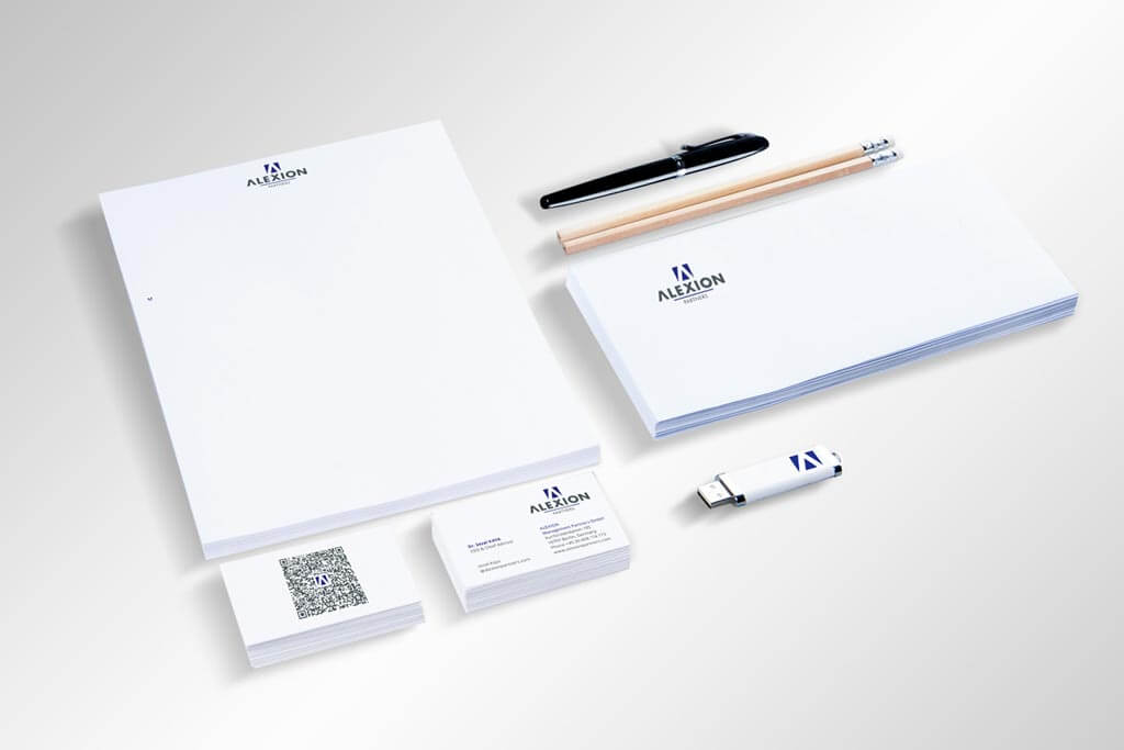 Corporate Design Alexion | Mattheis Werbeagentur