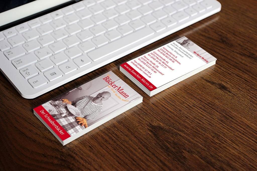 Corporate Design Bäckermann | Mattheis Werbeagentur