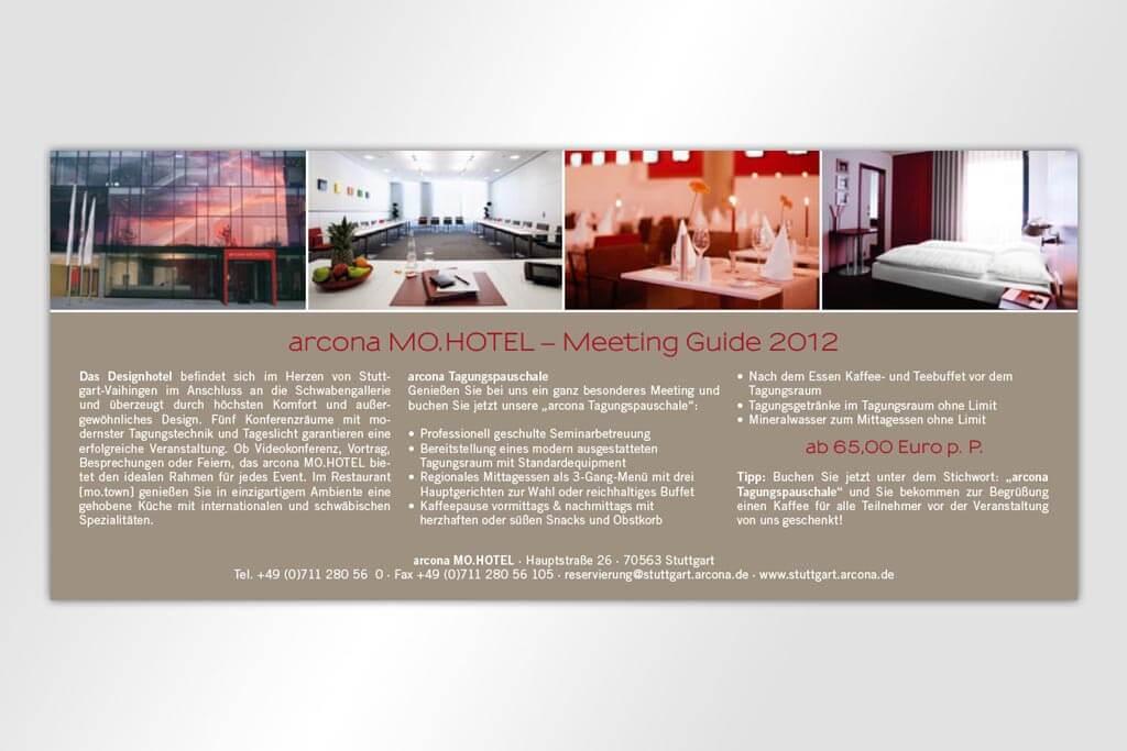 Corporate Design Arcona Hotels | Mattheis Werbeagentur