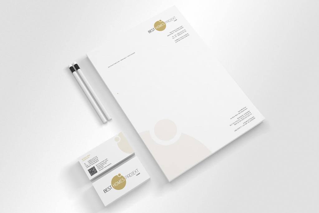 Corporate Design Best Homes Projekt GmbH   Mattheis Werbeagentur