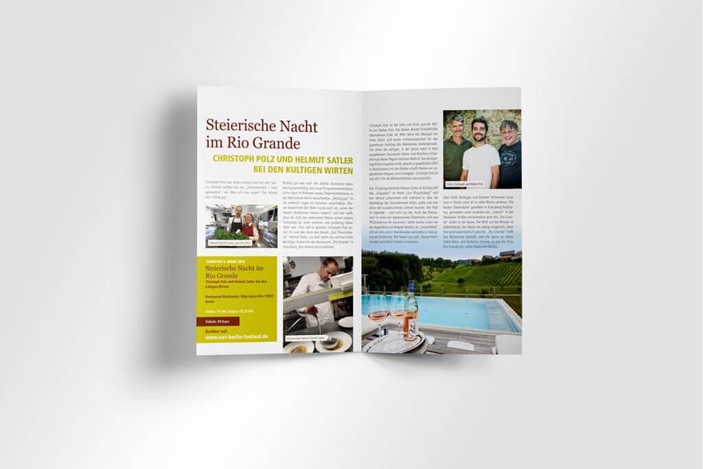 Corporate Design eat! Berlin | Mattheis Werbeagentur