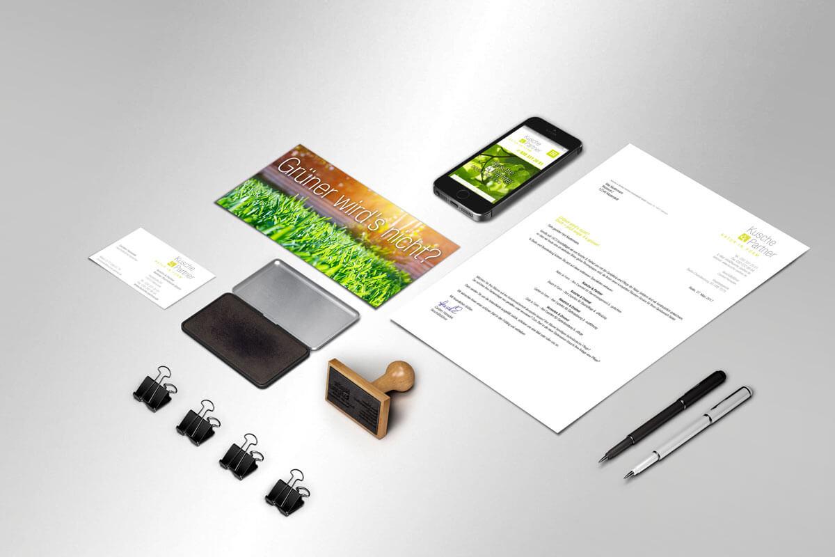 Corporate Design Kusche und Partner| mattheis. Werbeagentur