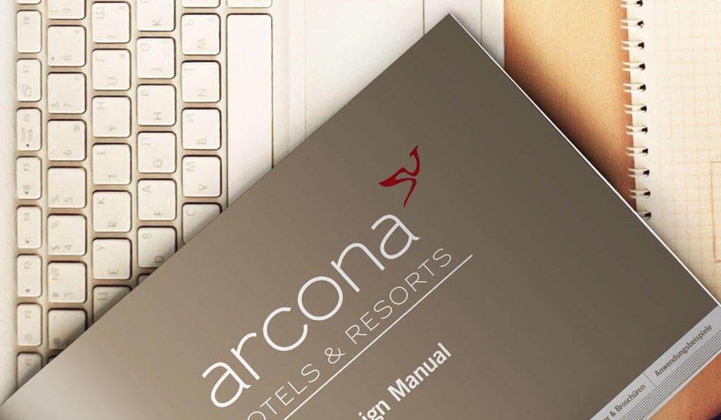 Corporate Design Manual arcona